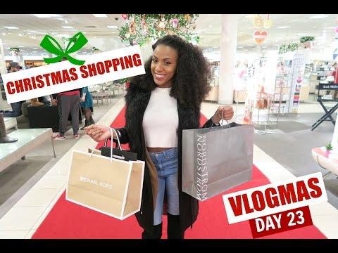 CHRISTMAS SHOPPING: Vlogmas Day 23