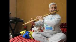 BHAJAN ON FLUTE  : RAGUPATI RAGHAV RAJA RAM