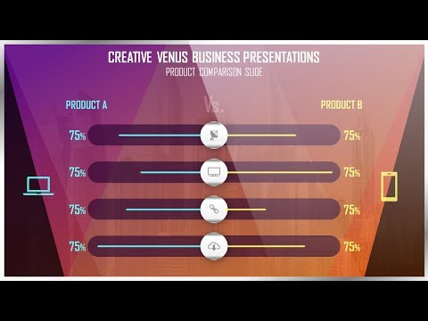 How To Create Most Beautiful Compare Slide in Microsoft Office PowerPoint PPT