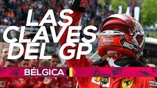Leclerc gana en nombre de Hubert | Resumen GP Bélgica F1 2019