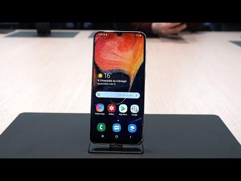 Samsung Galaxy A50 - Hands-On & Erster Eindruck (Deutsch)   SwagTab
