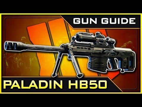 Paladin HB50 Stats & Best Class Setups! | Black Ops 4 Gun Guide #19