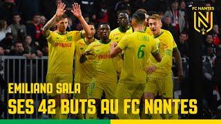 Emiliano Sala : ses 42 buts en championnat au FC Nantes