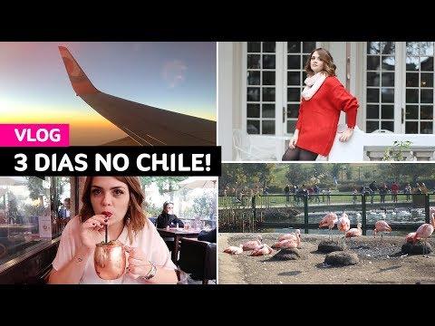 Vlog: viagem relâmpago pra Santiago do Chile • Karol Pinheiro