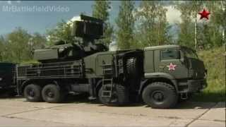 Russian Air Defence System: S-400, Pantsir-S1  NATO reporting name SA-22 Greyhound