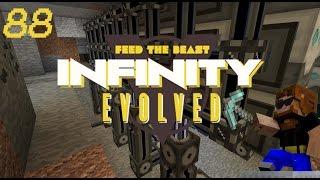 Minecraft: FTB Infinity Evolved - Ep.88 - ME Mining Op