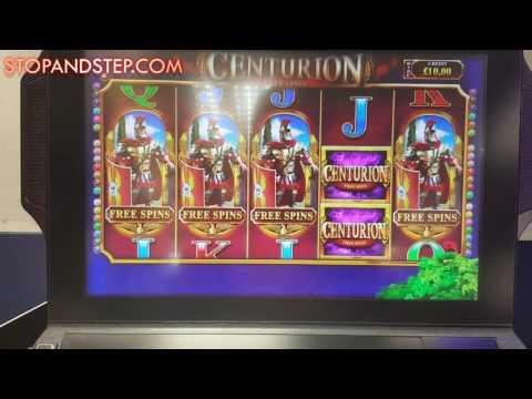 4 BONUS SYMBOLS!! Centurion Free Spins Slot