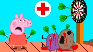 Пеппа Мультфильм что же случилось с Денни мультик для детей