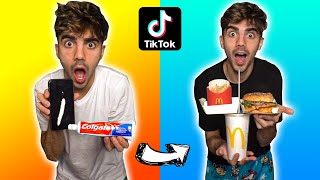 PROBANDO LIFEHACKS VIRALES DE TIKTOK! (funcionan!!)