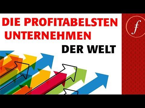 Die profitabelsten Unternehmen der Welt