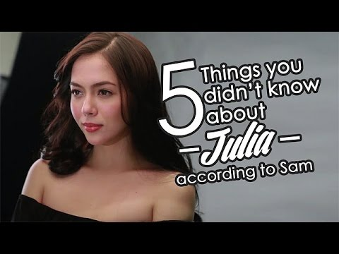 Sam Milby reveals 5 things you don't know about his Doble Kara co-star Julia Montes