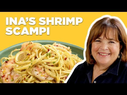 Barefoot Contessa Makes Linguine with Shrimp Scampi | Food Network