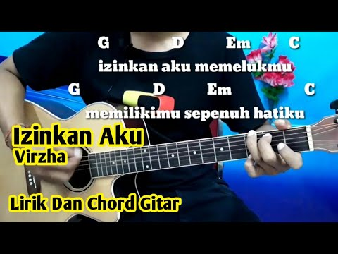 Chord Virzha Izinkan Aku - Tutorial Gitar By Darmawan Gitar