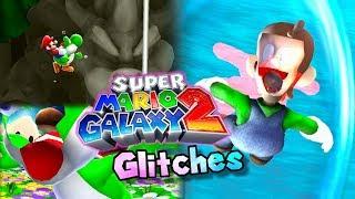 Glitches y trucos de: Super Mario Galaxy 2 | Rompiendo el juego con Yoshi [Loquendo]