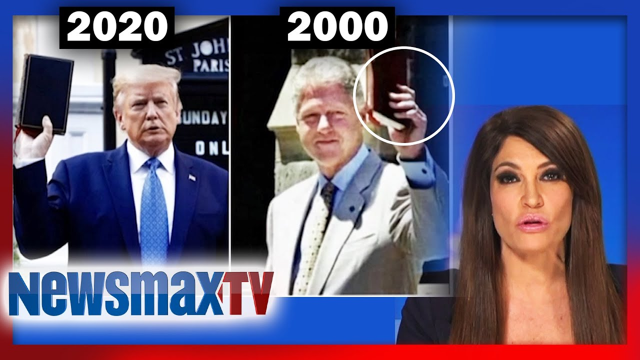 Clinton did 'same exact' bible op as Trump? with Kim Guilfoyle