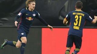 Video Gol Pertandingan RasenBallsport Leipzig vs Borussia Monchengladbach