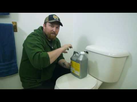 Removing Mineral Deposits From a Slow Flushing Toilet  Toilet Maintenance