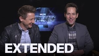 Baixar Paul Rudd, Jeremy Renner Received Cold Welcome On Set Of 'Endgame' | EXTENDED