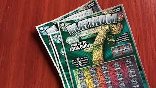 New $5 Platinum 7's - Michigan Lottery - 6/9/18