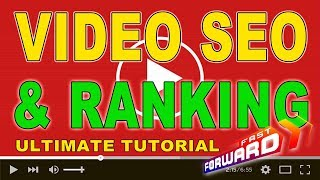 YouTube Video SEO And Video Ranking Tips To Rank FAST in 2020