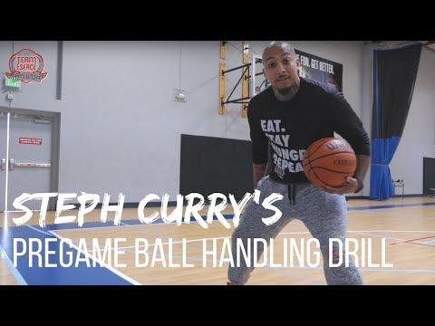 steph-curry's-pregame-ball-handling-drill