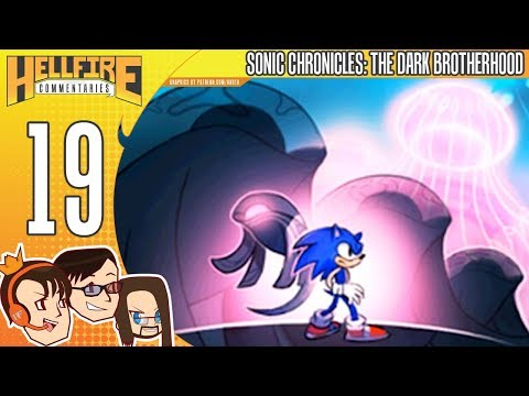 Sonic Chronicles: The Dark Brotherhood playthrough [Part 19: Sector Charybdis]