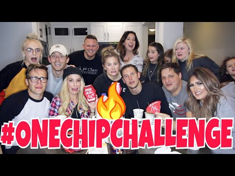 🌶️EPIC ONE CHIP CHALLENGE WITH BRATAYLEYREBECCAMADILYNBAILEY🌶️ Shawn Johnson