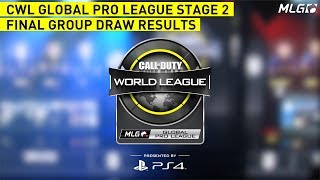 Call of Duty Global Pro League Stage 2 Final Group Placements Presented by PlayStation 4!