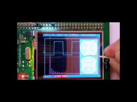 2 Channel `Oscilloscope` with a STM32F429 Discovery Board