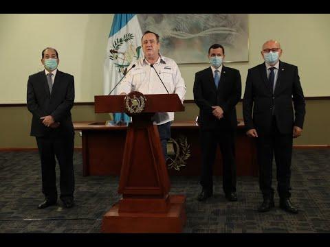 #InformeNacional | Presidente Alejandro Giammattei guatemaltecos podrán diferir pagos