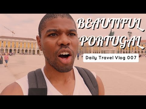 Sights And Sounds In BEAUTIFUL Lisbon - Daily Travel Vlog