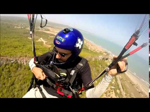 Cartagena Paragliding Coastal Flight