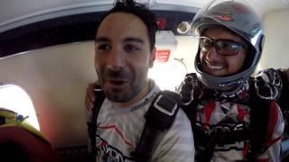 Volkans Tandem Skydive 15.000 feet above Dubai, Palm Jumeirah - Skydive Dubai