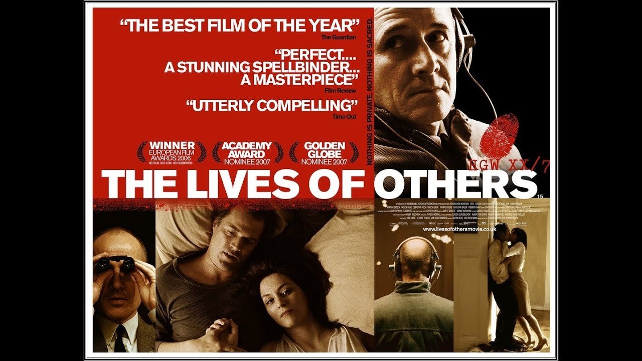 movie review the lives of others Nor can i spell it, therefore this response will be particularly informal that said, i rented the movie, watched it, watched the deleted scenes, and i.