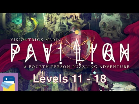 Pavilion Touch Edition: Levels 11 12 13 14 15 16 17 18 Walkthrough & Gameplay (by Visiontrick Media)