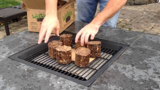 LoveLoggs - The environmentally friendly, ECO-logical, 100% recycled, quick lighting fire logs.