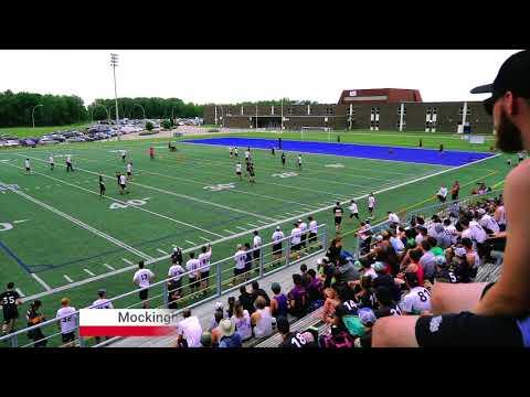 MOCKINGBIRD VS MANIC | CQU7 2017 OPEN | Shawinigan, Québec | Fédération Québécoise d'Ultimate