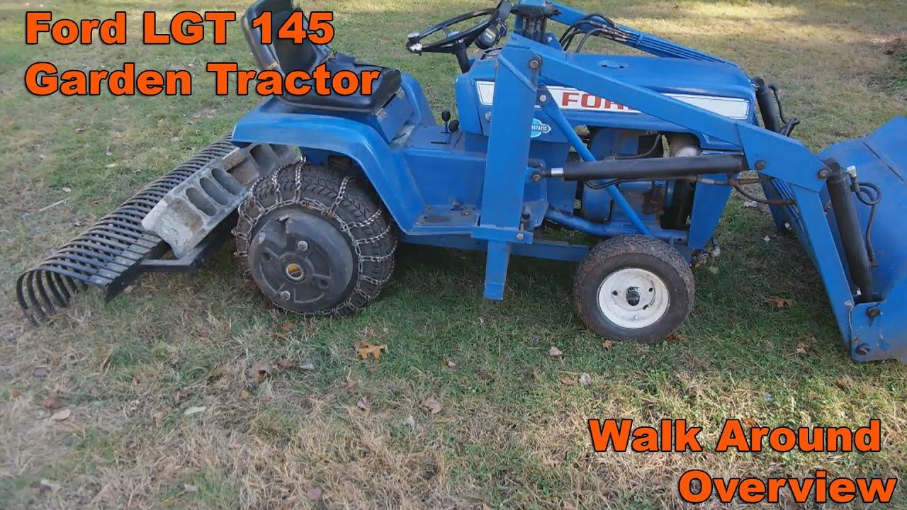 ford lgt 145 lawn tractor ford lawn tractors ford lawn tractors tractorhd mobi [ 1280 x 720 Pixel ]