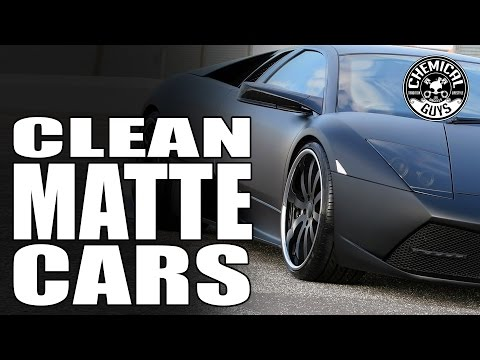 How To Clean And Detail Matte Cars - Chemical Guys Car Care