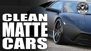 How Clean And De Matte Cars