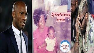 """DJ Arafat: Didier Drogba fait parler son"""" cœur """"et offerts""""10 millions """"a la famille de Arafat dj/"""