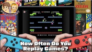How Often Do You Replay the Same Video Games?