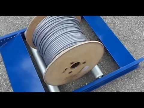 Cable Drum Roller 350kg Youtube
