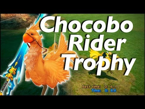 Final Fantasy X HD Remaster - Chocobo Rider Trophy Guide (Tips & Tricks)