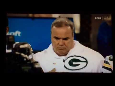 Green Bay Packers Vs Chicago Bears Thursday Night Football National Anthem
