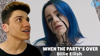 Billie Eilish - When The Party's Over REACT / REVIEW