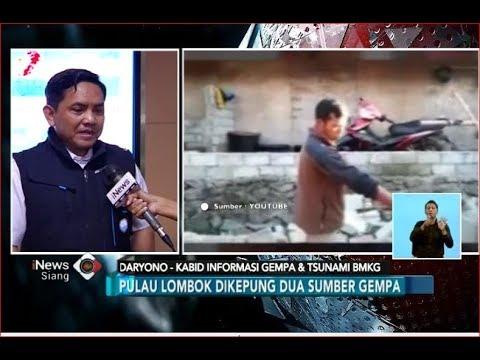 Pulau Lombok Merupakan Daerah Rawan Gempa, Ini Penjelasan BMKG - iNews Siang 29/07