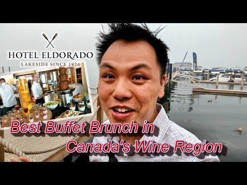 Best Brunch Buffet In Canada's Wine Region @ Hotel Eldorado, Kelowna BC