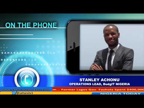 Stanely Achonu Talks About Monitoring Government Expenditures From Budgeting To Procurement