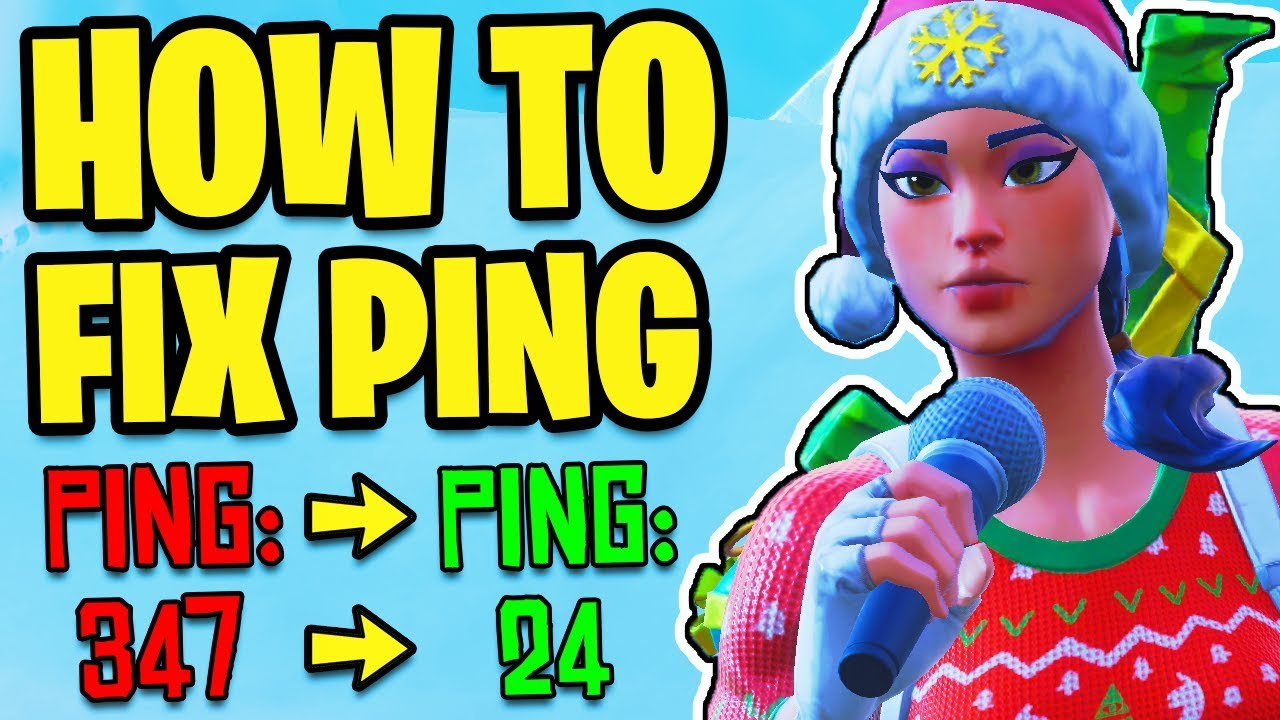How To LOWER PING in FORTNITE! Best Tips On How To STOP LAG (PC, Xbox One, PS4, Switch, Mobile)